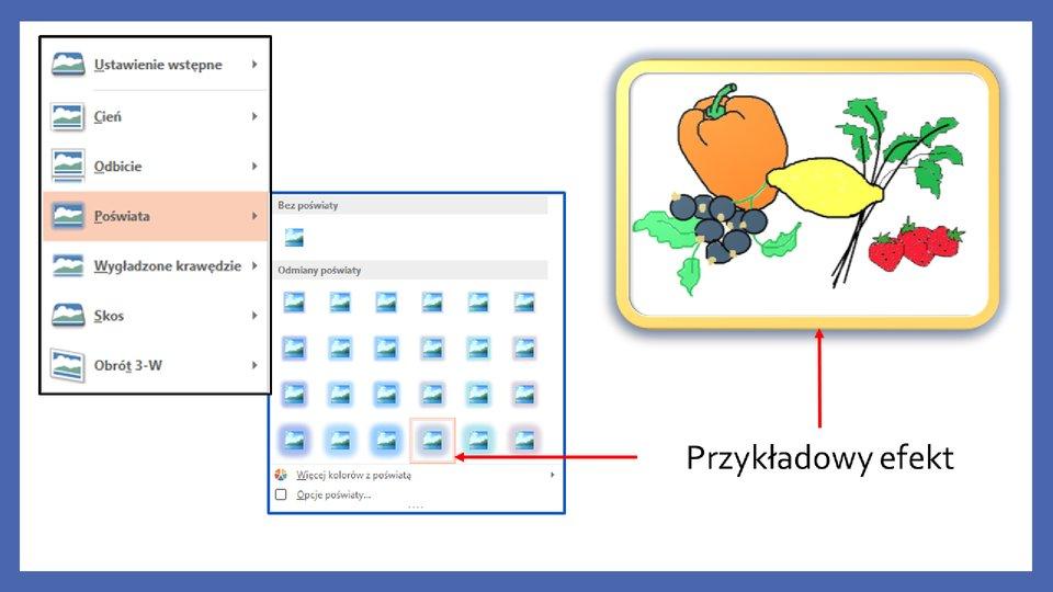 Slajd 7 galerii zrzutów slajdów: Modyfikacja obiektów wprogramie MS PowerPoint
