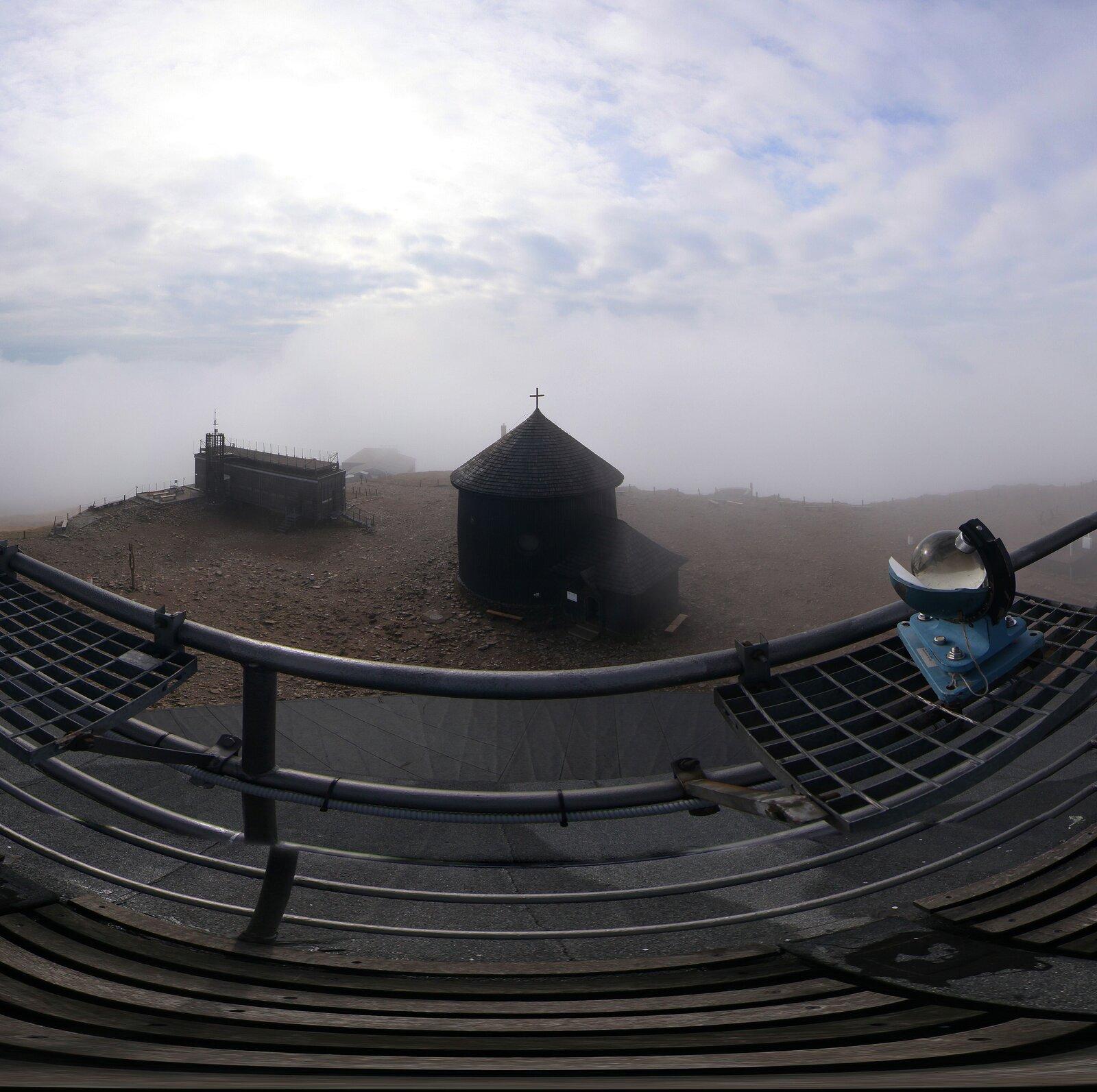 Wirtualna panorama - Śnieżka