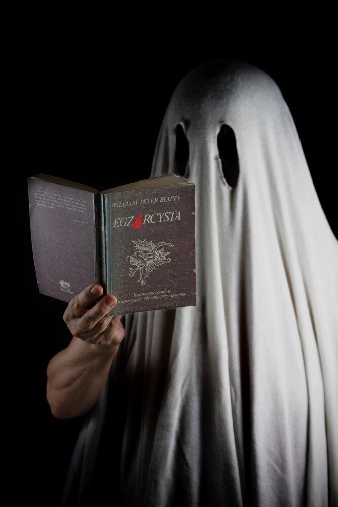 Halloween_duch Źródło: Małgorzata Skibińska, Contentplus.pl sp. zo.o..