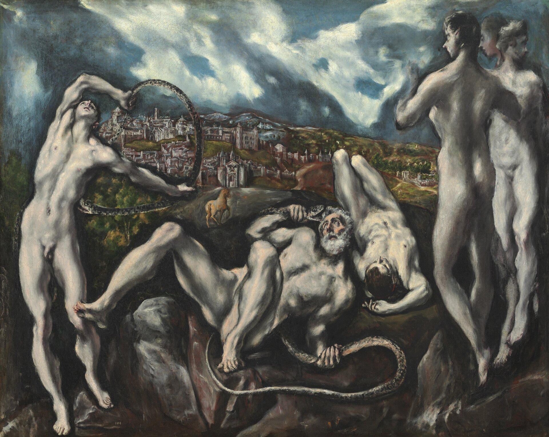 Laokoon Źródło: El Greco, Laokoon, ok. 1610, National Gallery of Art, domena publiczna.