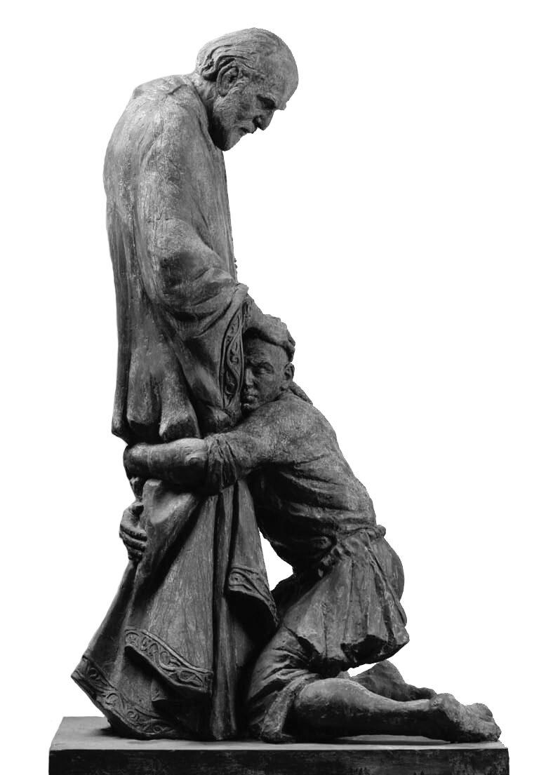 Powrót syna marnotrawnego Źródło: Ivan Korzhev (Иван Коржев), Powrót syna marnotrawnego, 1998, rzeźba, licencja: CC BY-SA 3.0.