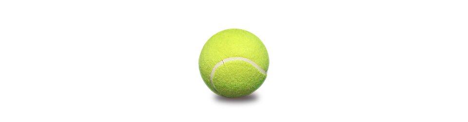 Rysunek piłki tenisowej.