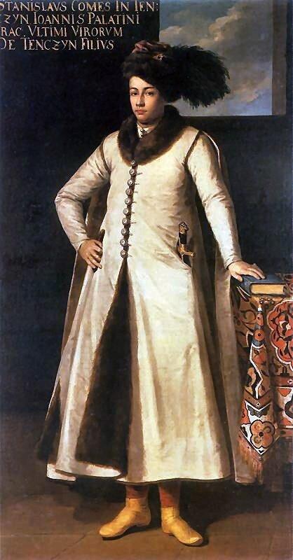 Portret Stanisława Tęczyńskiego Źródło: Tomasz Dolabella, Portret Stanisława Tęczyńskiego, 1633–1634, olej na płótnie, domena publiczna.