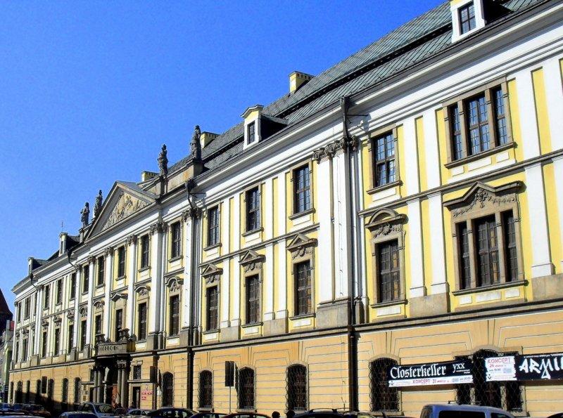 Akademia Rycerska wLegnicy na Śląsku Akademia Rycerska wLegnicy na Śląsku Źródło: Aw58, Wikimedia Commons, licencja: CC BY-SA 3.0.