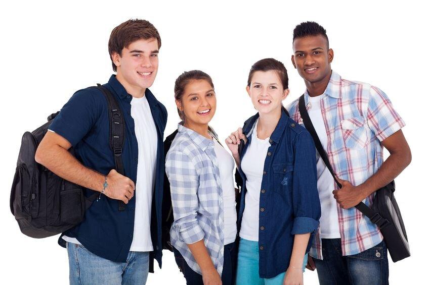 Młodzież szkolna Źródło: www.audio-luci-store.it, Młodzież szkolna, licencja: CC BY 2.0.