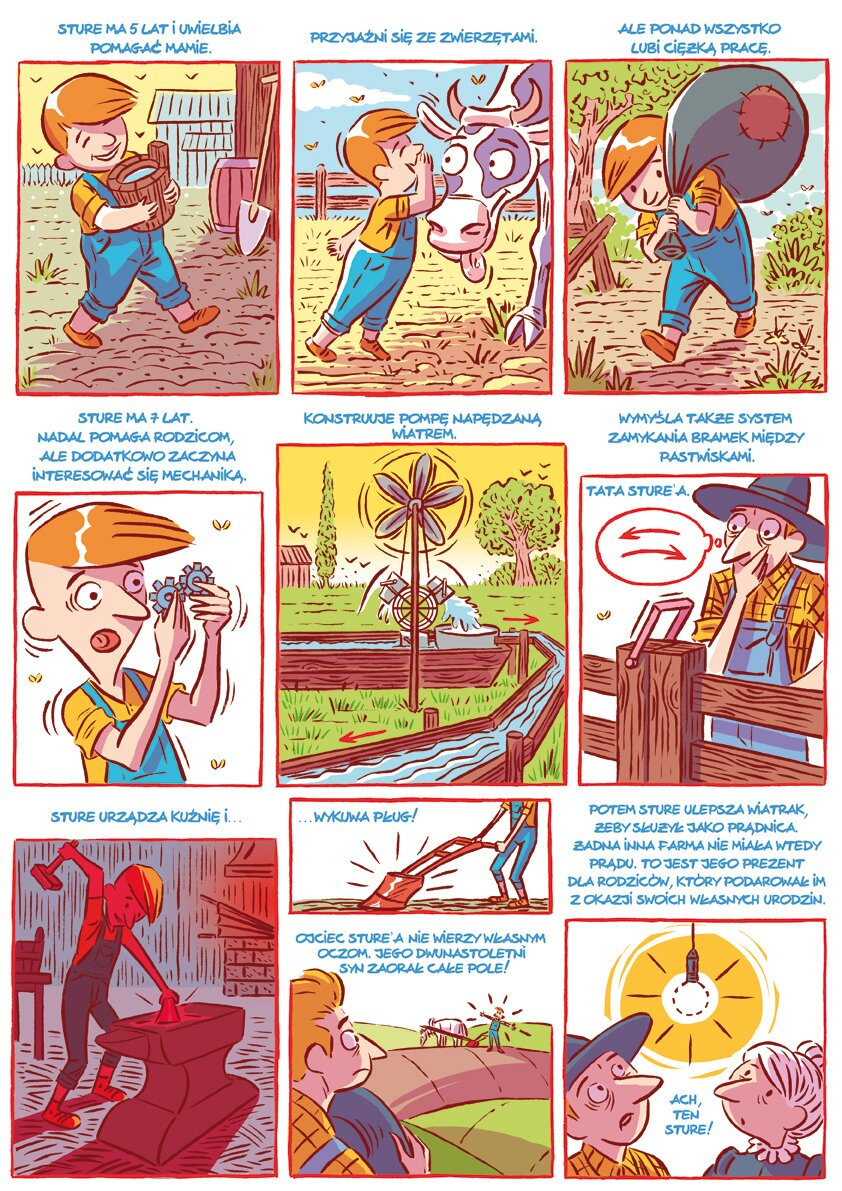 komiks wharton Źródło: Uniwersytet Wrocławski.