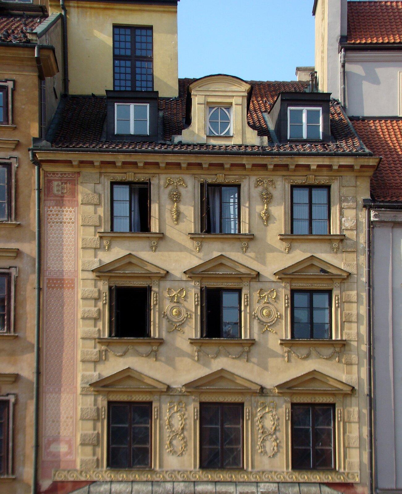 Kamienica Fukierowska wWarszawie Kamienica Fukierowska wWarszawie Źródło: Szczebrzeszynski, domena publiczna.