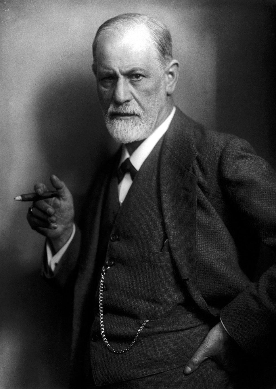 Zygmunt Freud Zygmunt Freud Źródło: Max Halberstadt, 1922, fotografia, domena publiczna.