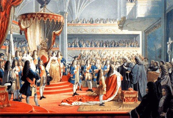 Koronacja Fryderyka Ina Króla wPrusach wKrólewcu w1701 r. Koronacja Fryderyka Ina Króla wPrusach wKrólewcu w1701 r. Źródło: domena publiczna.