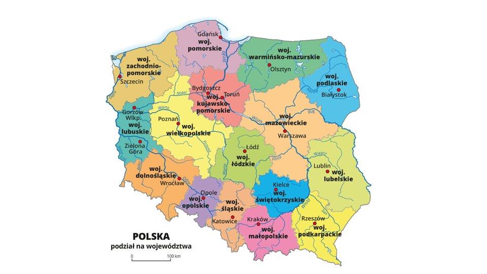 Zroznicowanie Poziomu Urbanizacji W Polsce Epodreczniki Pl