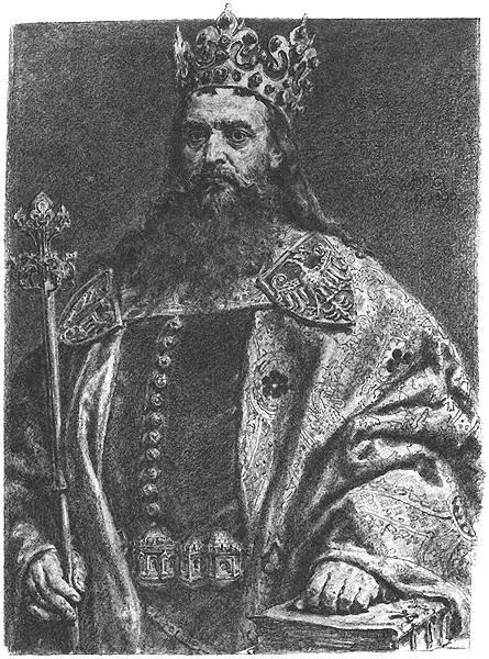 Kazimierz III Wielki Źródło: Jan Matejko, Kazimierz III Wielki, 1890-1892, Muzeum Narodowe we Wrocławiu, domena publiczna.