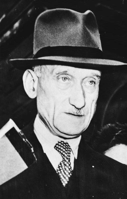 Robert Schuman Źródło: Robert Schuman, 1949, fotografia, Bundesarchiv, licencja: CC BY-SA 3.0.
