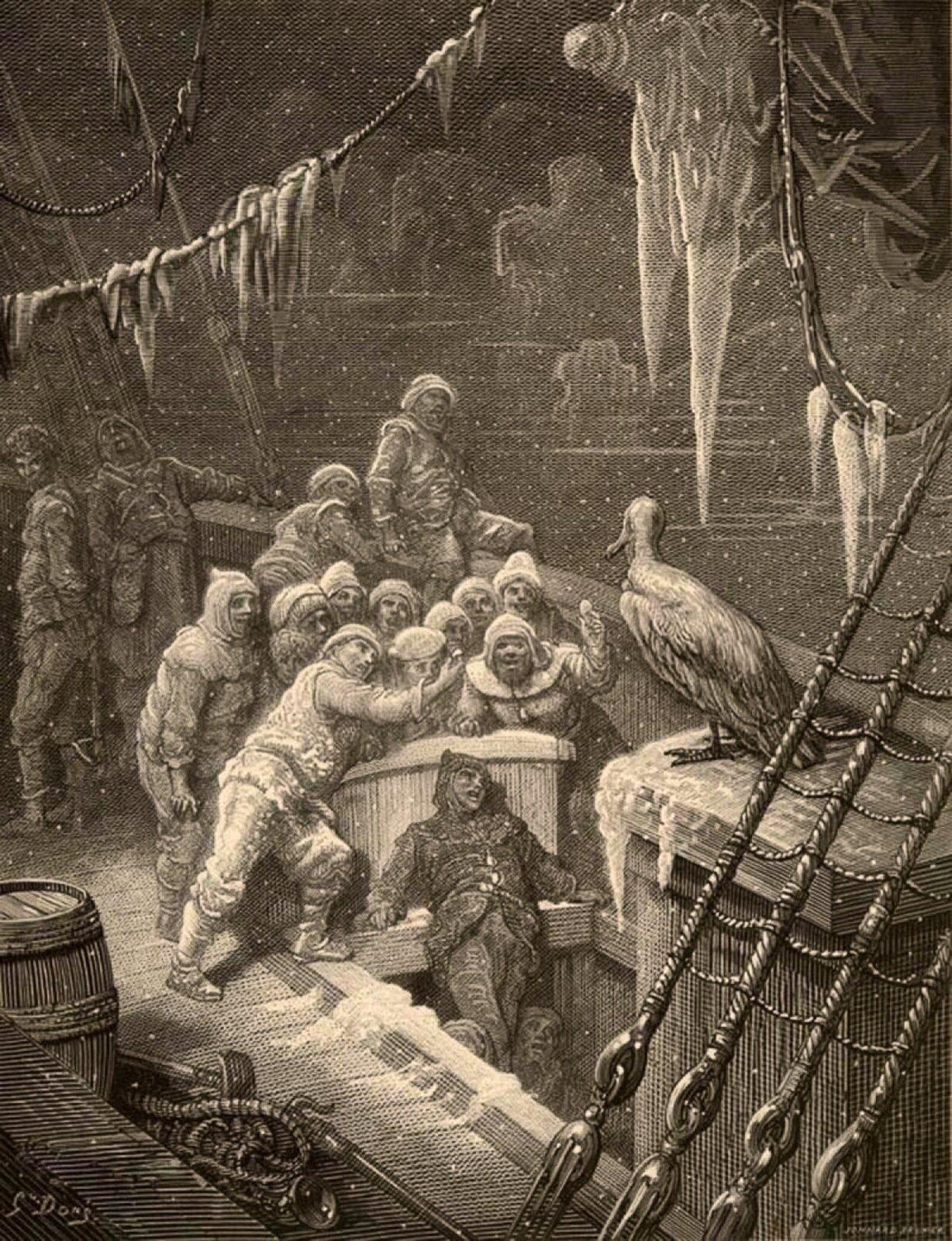 Gustave Doré, Albatros - rycina