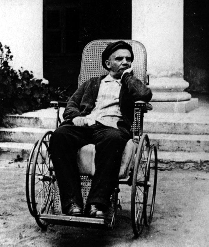 Jedno zostatnich zdjęć Lenina Jedno zostatnich zdjęć Lenina Źródło: domena publiczna.