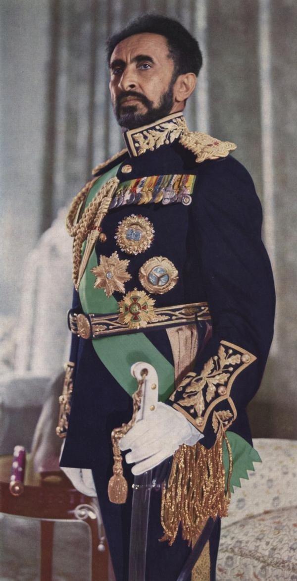 Hajle Sellasje I, cesarz Etiopii, bohater książki Ryszarda Kapuścińskiego Hajle Sellasje I, cesarz Etiopii, bohater książki Ryszarda Kapuścińskiego Źródło: domena publiczna.