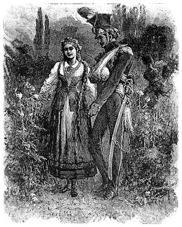 Tadeusz iZosia Tadeusz iZosia Źródło: Michał Elwiro Andriolli, 1881, domena publiczna.