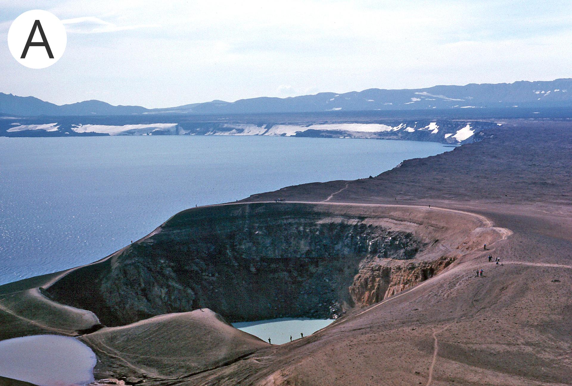 Obszary wulkaniczne na Islandii
