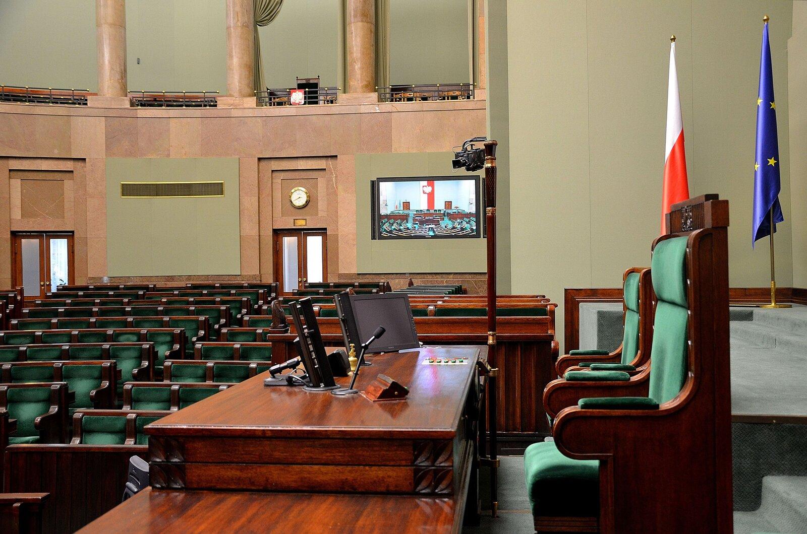 Fotel marszałka Sejmu