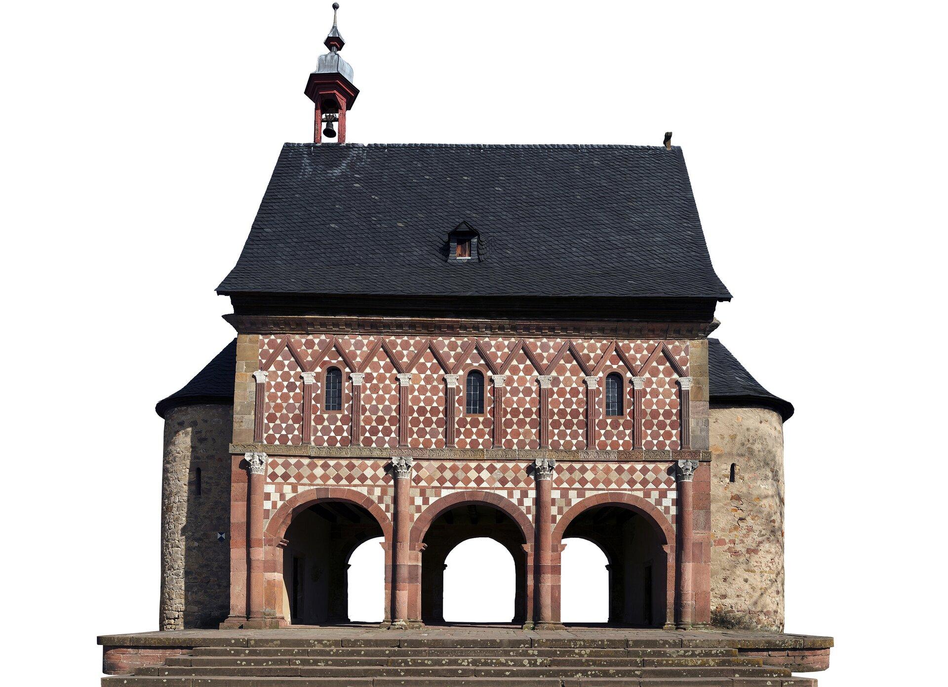 Brama opactwa wLorch Źródło: Armin Kübelbeck, Brama opactwa wLorch, licencja: CC BY-SA 3.0.