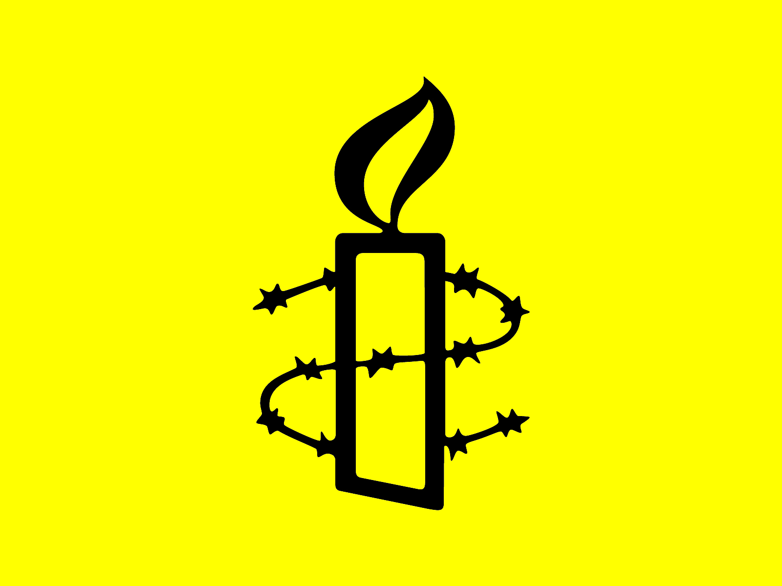 Logo Amnesty International Źródło: Amnesty International, Logo Amnesty International, licencja: CC 0.