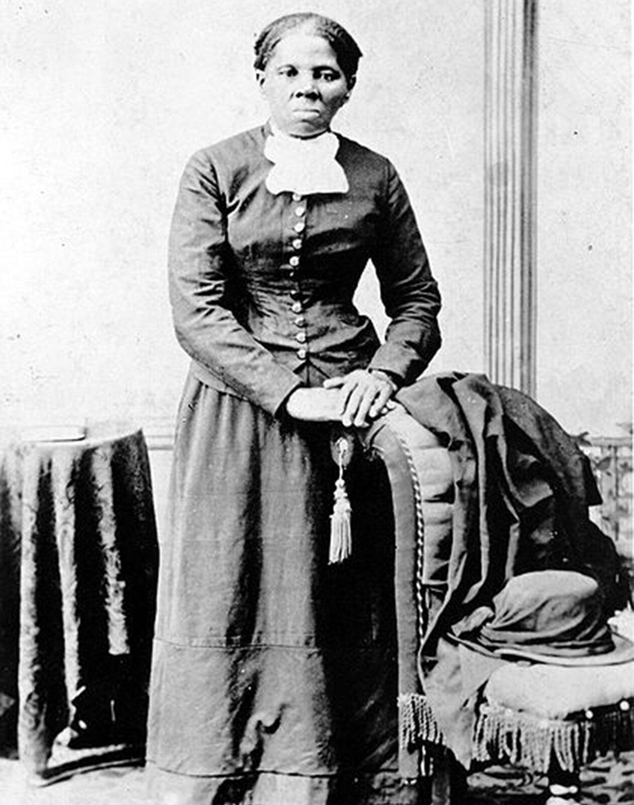 Harriet Tubman Harriet Tubman Źródło: domena publiczna.