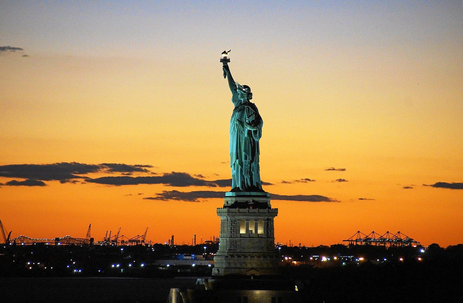 pomnik Statua Woności