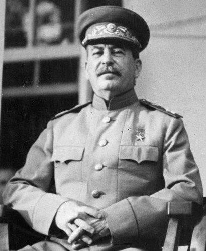 Józef Stalin Józef Stalin Źródło: U.S. Signal Corps photo., domena publiczna.