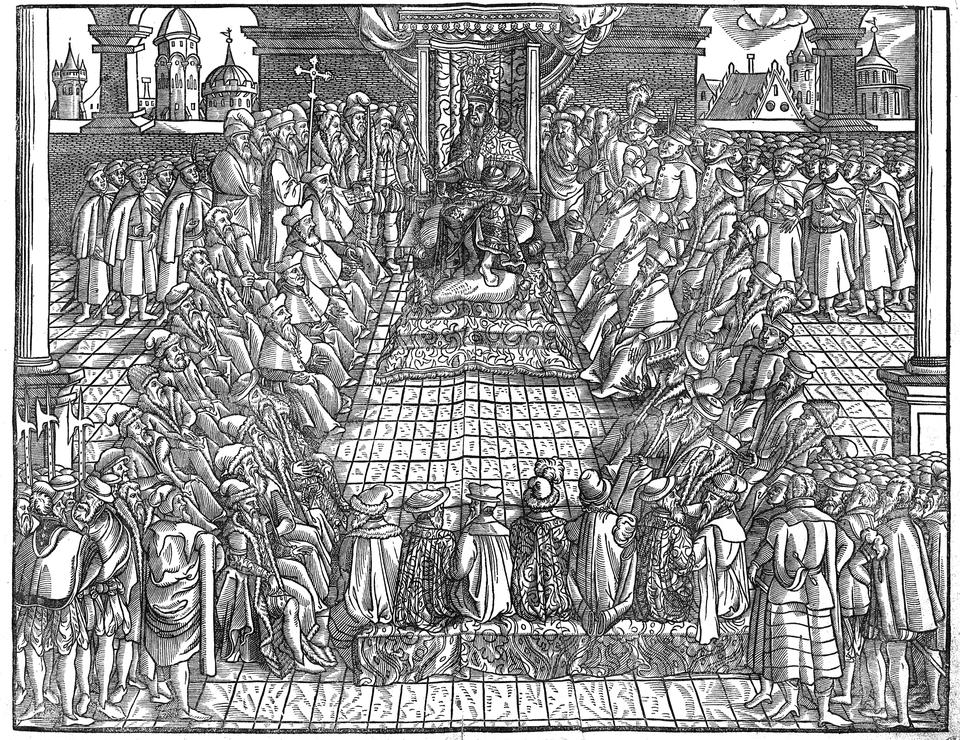 Sejm koronny za panowania Zygmunta II Augusta Sejm koronny za panowania Zygmunta II Augusta Źródło: Jan Herbut, domena publiczna.