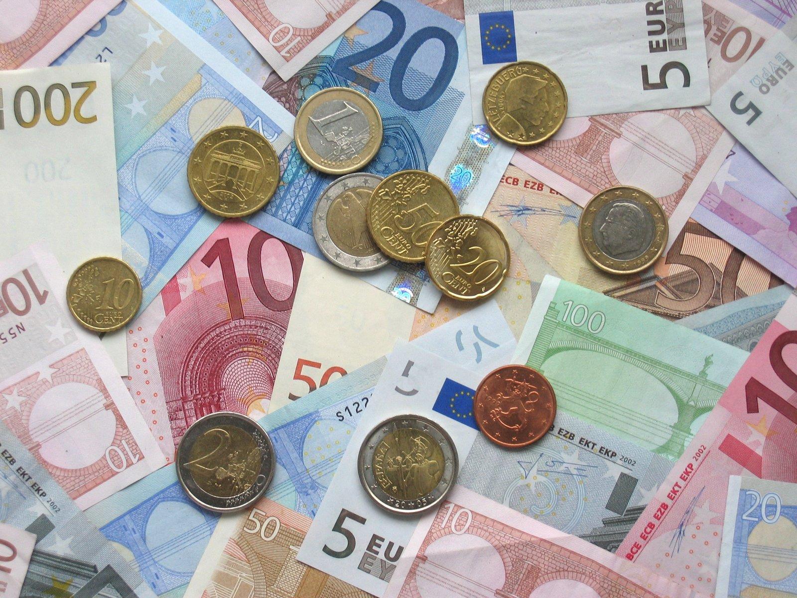 Waluta Euro Źródło: Avij, Waluta Euro, licencja: CC 0.