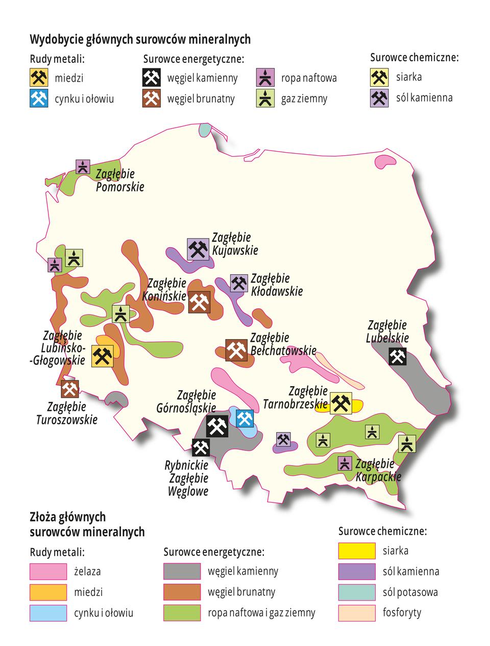 Bogactwa mineralne Polski
