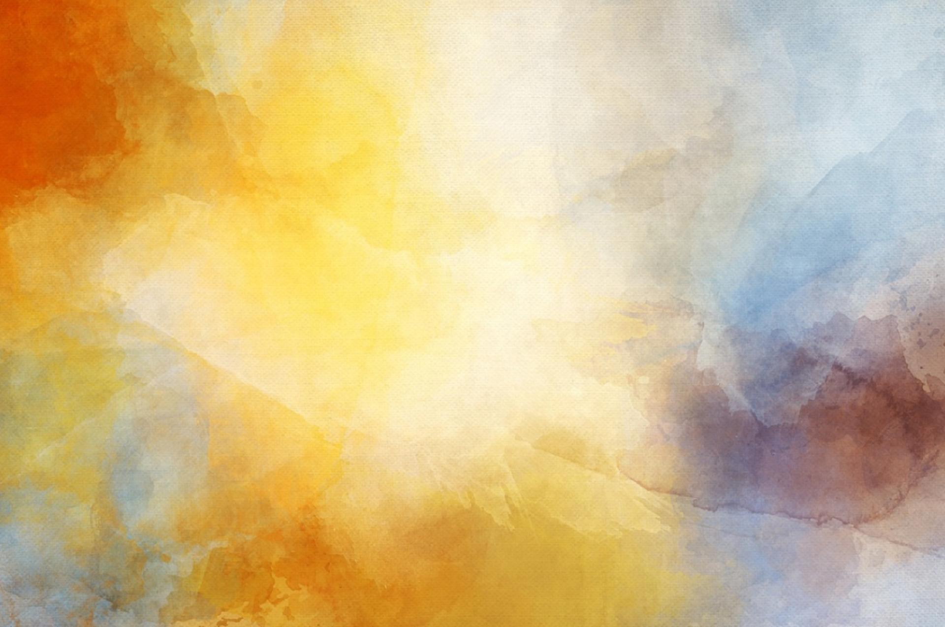 Zdjęcie przedstawia plamę różnych kolorów od czerwonego po żółty, do niebieskiego. Barwy pokrywają się.