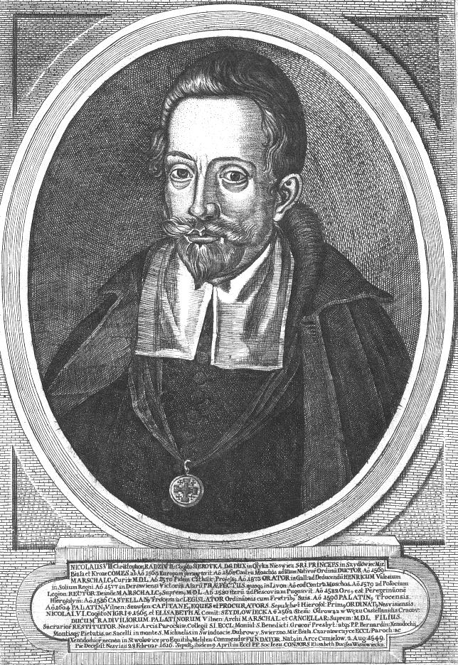 Portret Mikołaja Krzysztofa Radziwiłła Źródło: Marcin Franciszek Wobe, Portret Mikołaja Krzysztofa Radziwiłła, ok. 1758, domena publiczna.