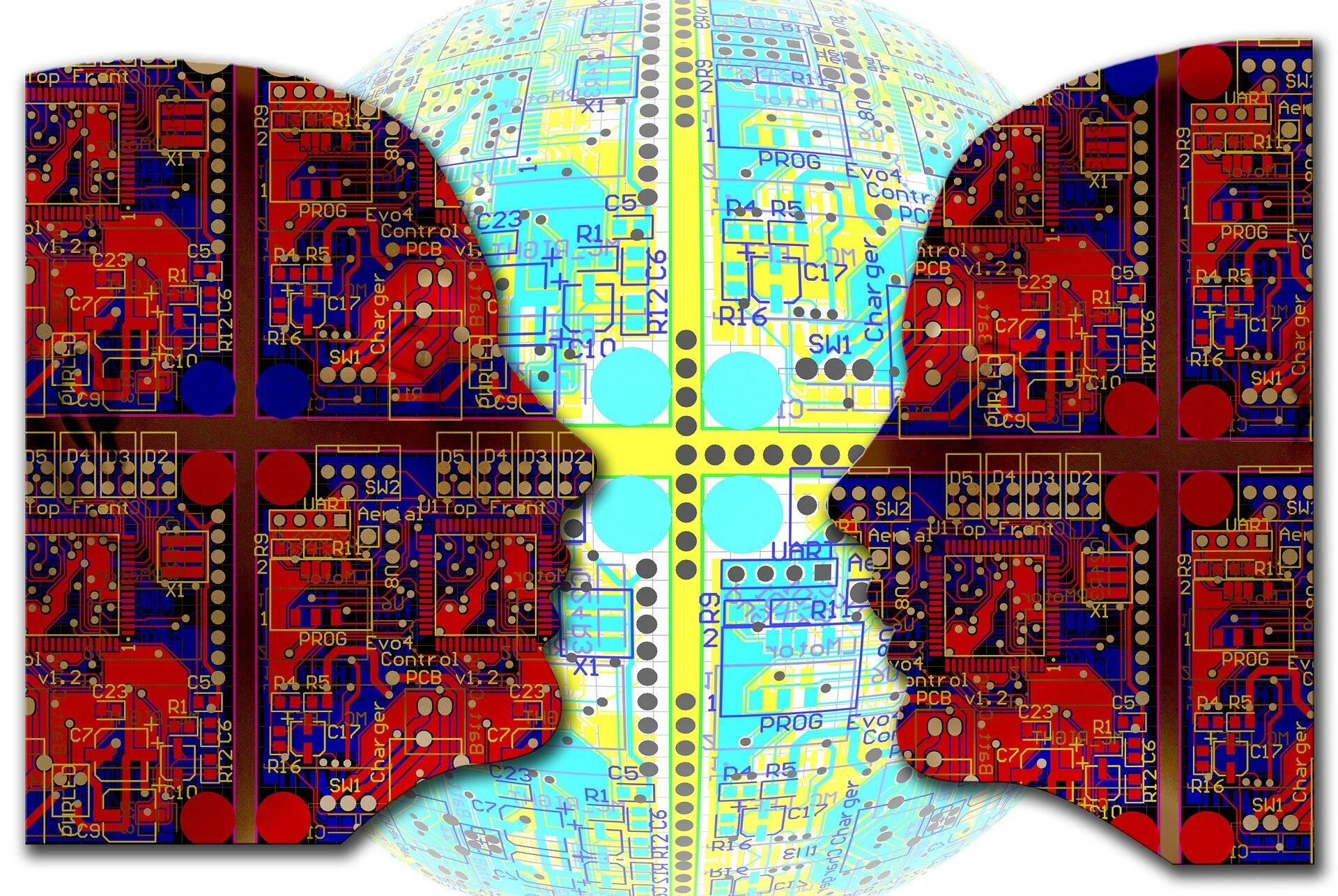 Brain nebula Źródło: www.pixabay.com, Brain nebula, grafika komputerowa, domena publiczna.
