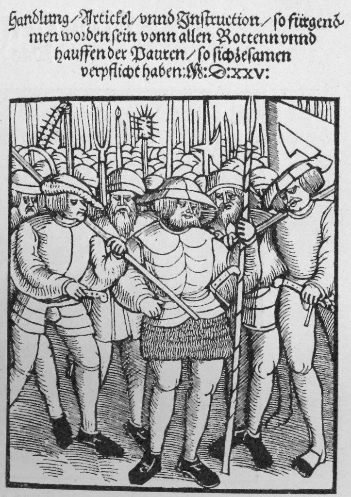 """Karta tytułowa """"Zwoelf Artikel"""" Karta tytułowa """"Zwoelf Artikel"""" Źródło: 1525, domena publiczna."""