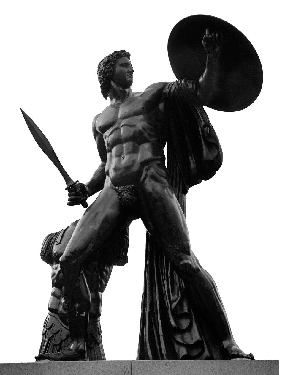Posąg Achillesa Posąg Achillesa Źródło: Anthony Hevron, Hyde Park, Londyn, licencja: CC BY 2.0.