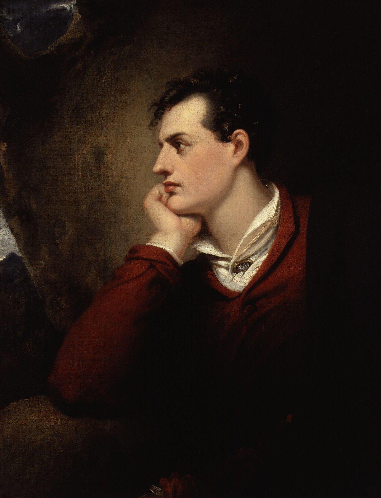 George Gordon Byron Źródło: Richard Westall, George Gordon Byron, 1813, domena publiczna.