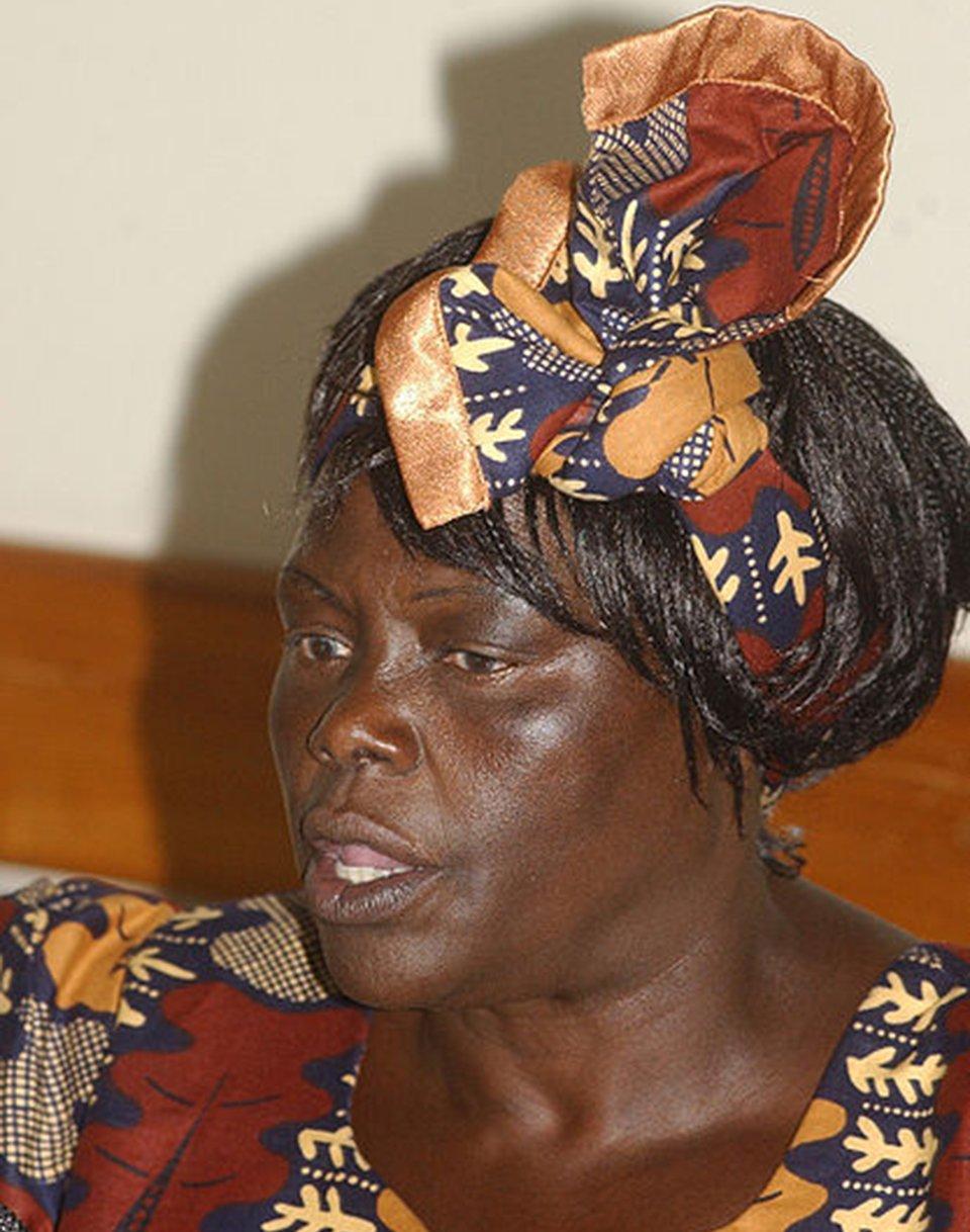 Wangari Maathai Wangari Maathai