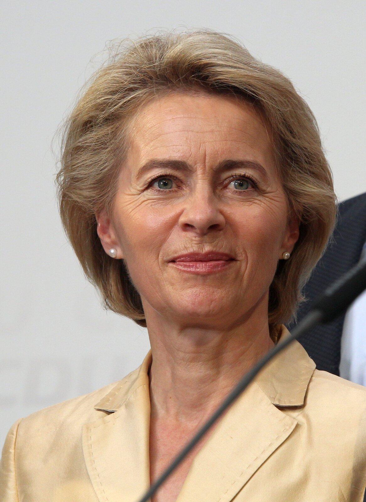 Ursula von der Leyen (od 1 listopada 2019)