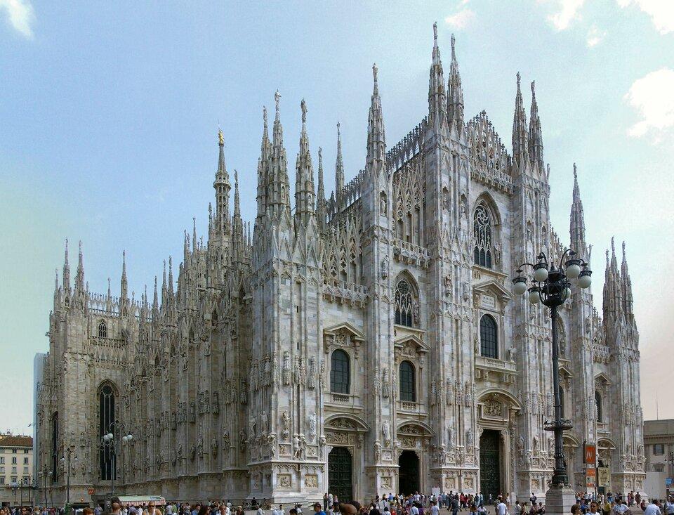 Katedra wMediolanie (Włochy)