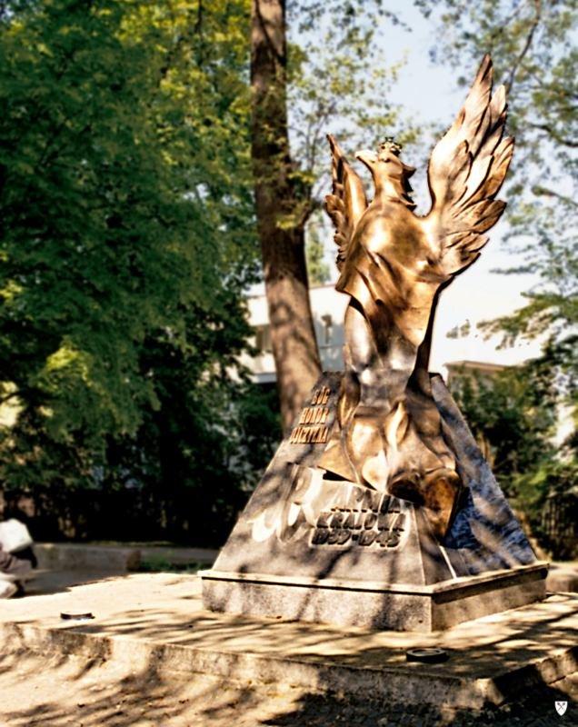 Pomnik AK wSopocie Źródło: Pomnik AK wSopocie, licencja: CC BY-SA 3.0.
