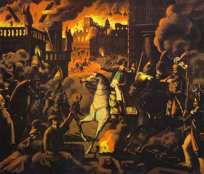 Napoleon wMoskwie w1812 roku Źródło: Napoleon wMoskwie w1812 roku, 1820, olej na płótnie, domena publiczna.