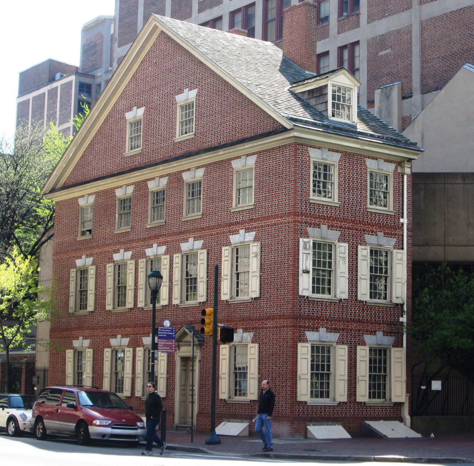Declaration House wFiladelfii (nazywany też Graff House) Declaration House wFiladelfii (nazywany też Graff House) Źródło: Beyond My Ken, Wikimedia Commons, licencja: CC BY-SA 4.0.
