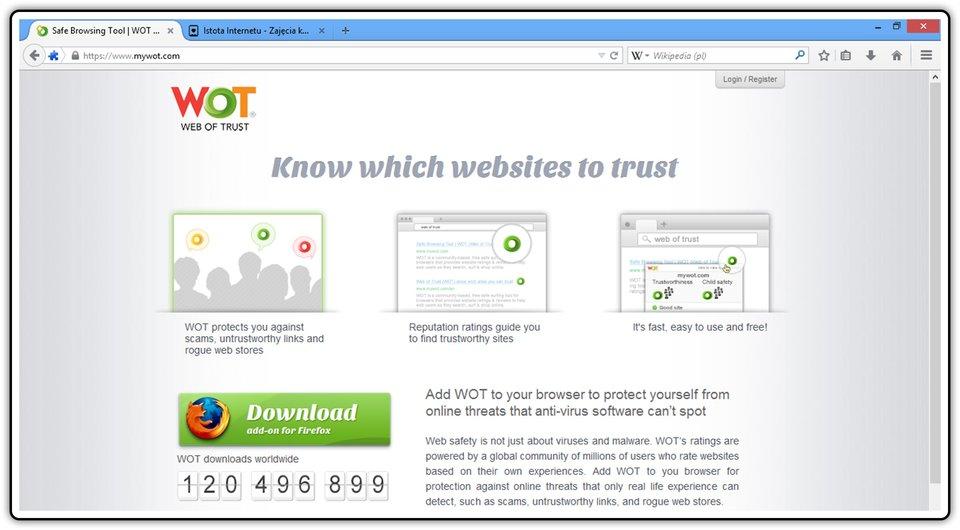 Zrzut okna strony: https://www.mywot.com/