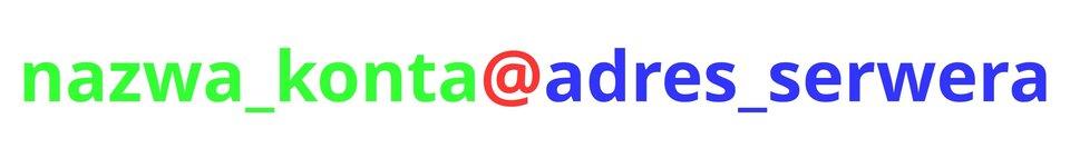 Wzór adresu poczty elektronicznej