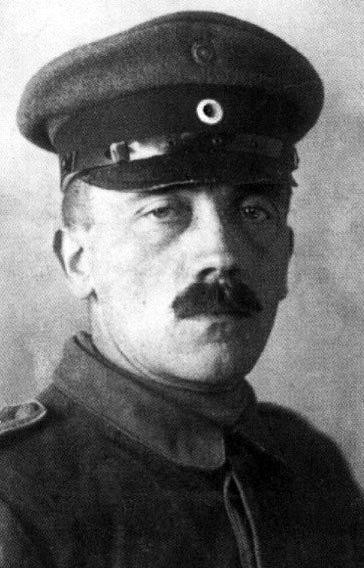Adolf Hitler podczas Iwojny światowej Adolf Hitler podczas Iwojny światowej Źródło: domena publiczna.