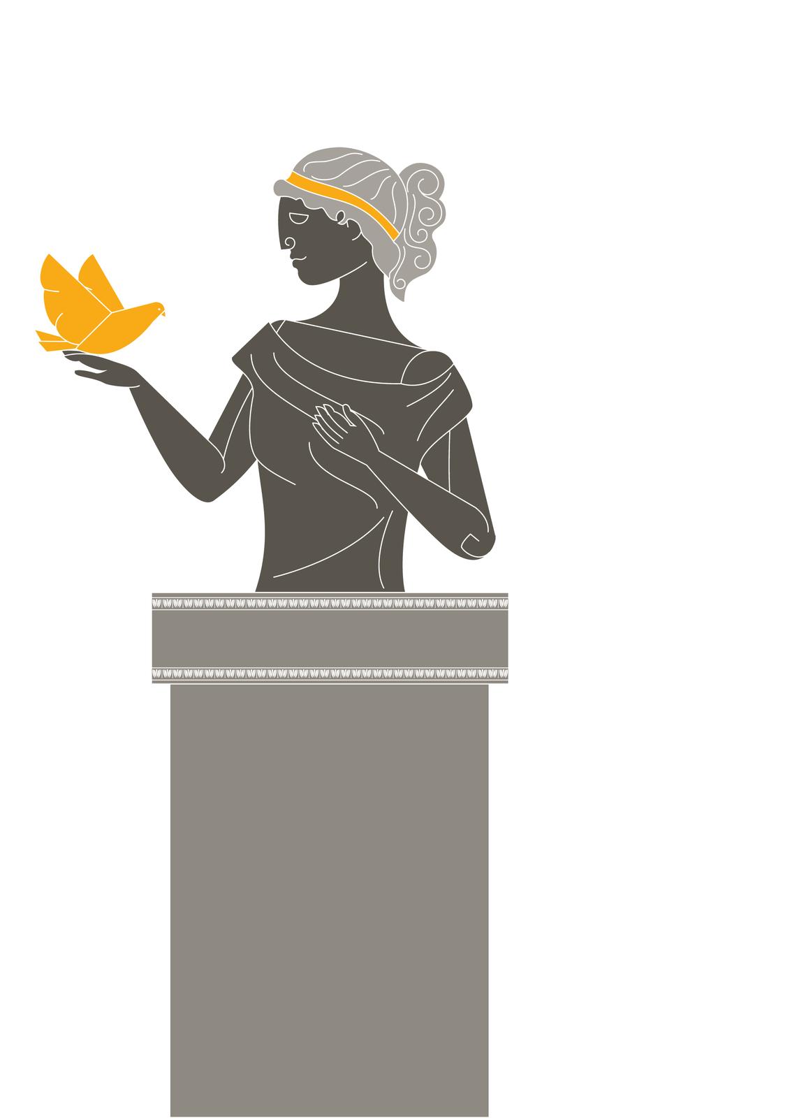 Według mitów zmorskiej piany narodziła się piękna Afrodyta – bogini miłości iurody. Podróżowała wozem zaprzężonym wgołębie Według mitów zmorskiej piany narodziła się piękna Afrodyta – bogini miłości iurody. Podróżowała wozem zaprzężonym wgołębie Źródło: Contentplus.pl sp. zo.o..