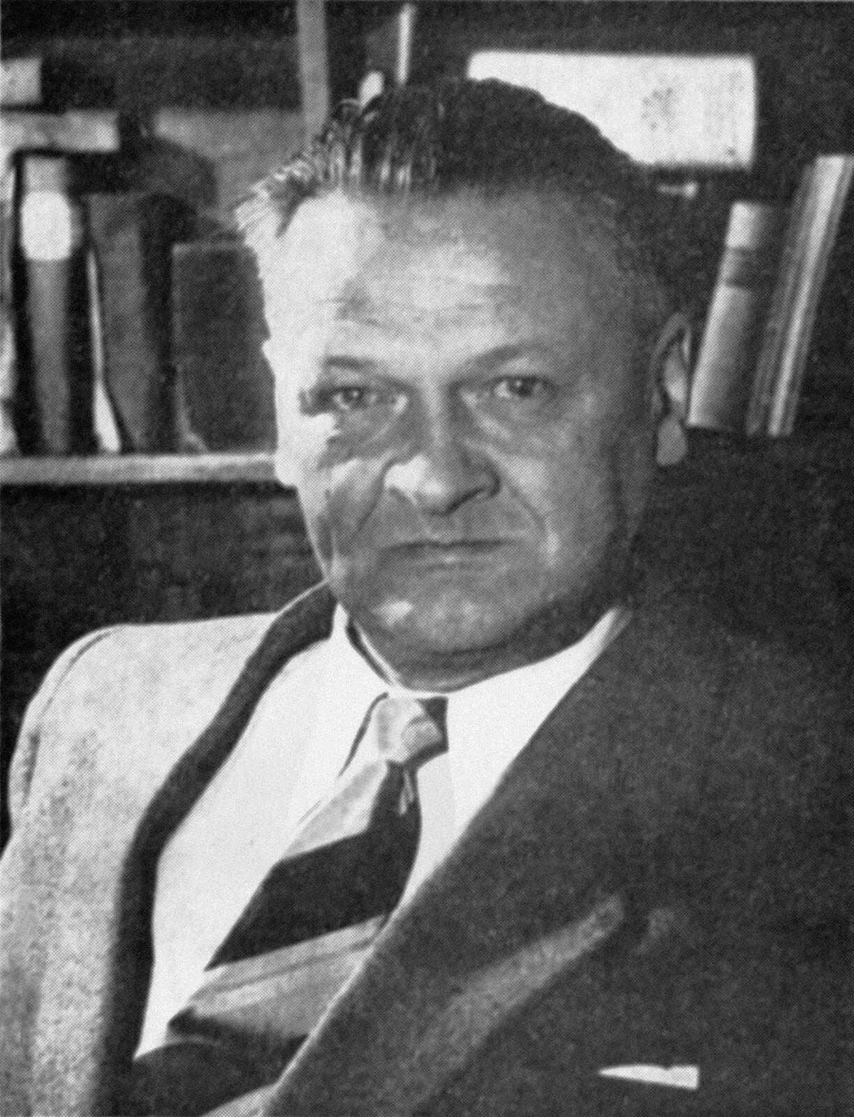 Portret Władysława Broniewskiego