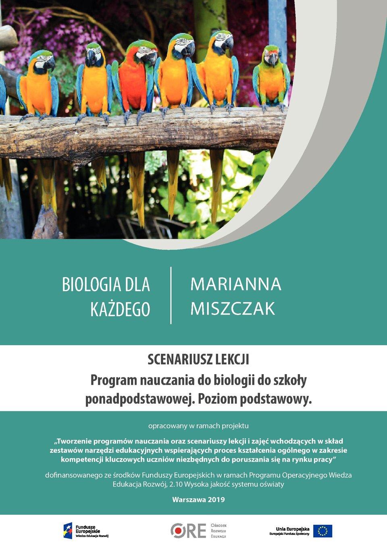 Pobierz plik: scenariusz Biologia PP 13.pdf