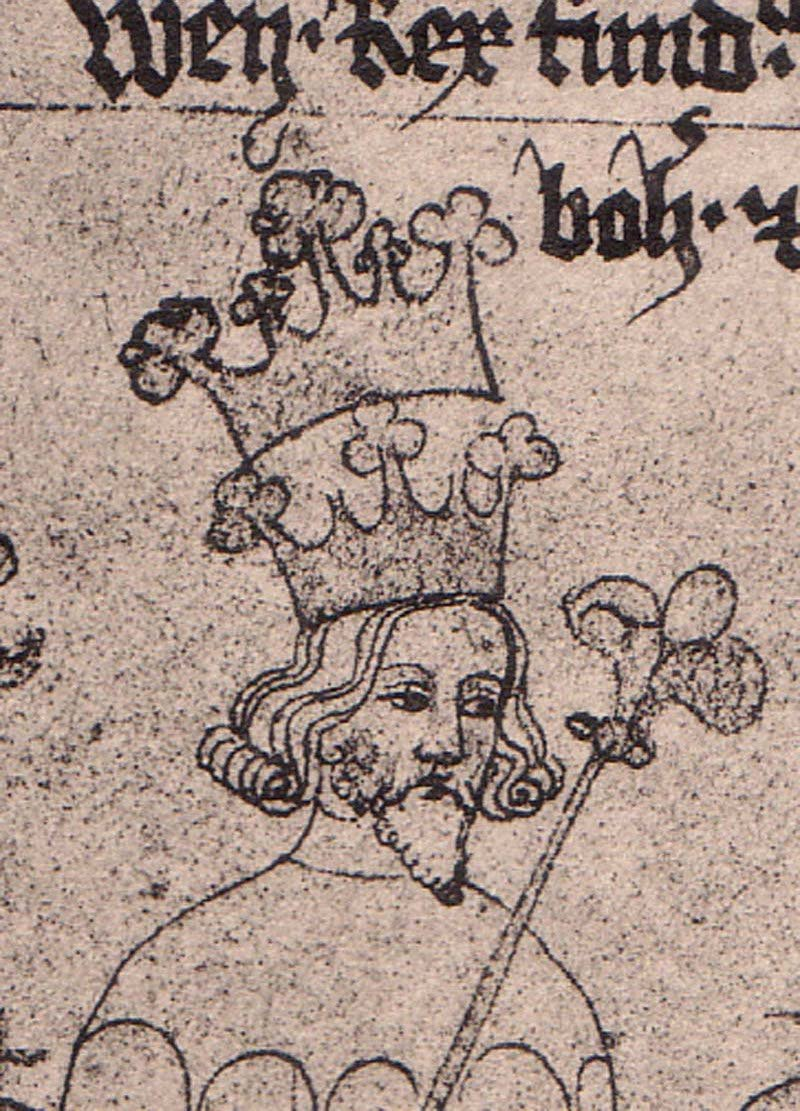 Wacława II Źródło: Bohemian, Wacława II, licencja: CC 0.