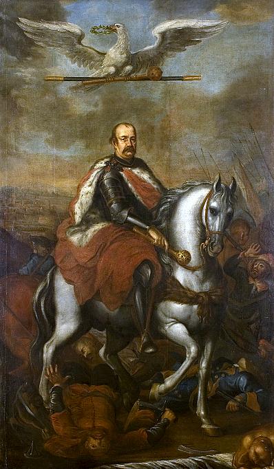 portret konny Jerzego Sebastiana Lubomirskiego.